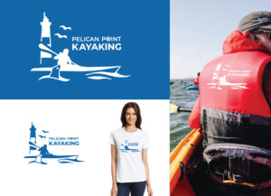 logo made by marc4u.be pelican point kayaking